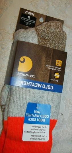CARHARTT MENS SOCKS BOOT COLD WEATHER NWT M L OVER CALF FULL