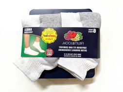 Fruit of the Loom Mens Socks OfPack Ankle Socks- Pick SZ/Col