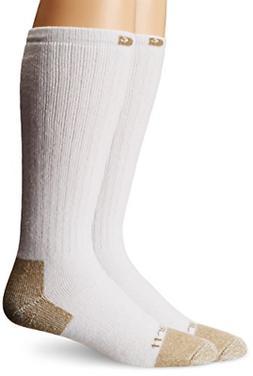 Carhartt Mens Steel-Toe Cotton Work Boot Anti Odor Socks  Sh