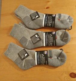 Mens Ballston Winter 1/4 XL 3 Pairs 70% Merino Wool Ankle So