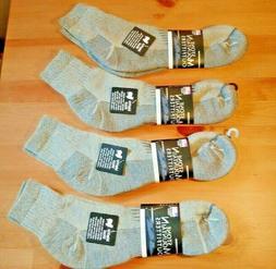 Mens Ballston Winter 1/4 XL 4 Pairs 70% Merino Wool Ankle So