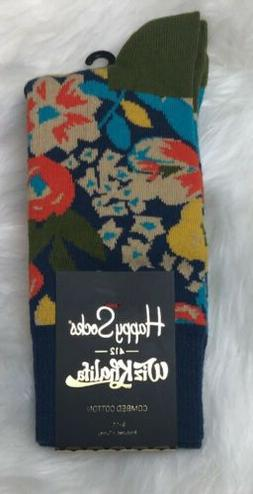 Mens Wiz Khalifa Top Floor Happy Socks Men's Sz 9-11 Brand