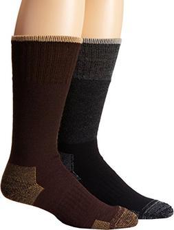 Timberland Men's Assorted Merino Wool Boot Sock 2 Pair 15 B