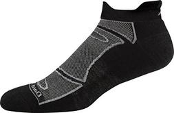 Darn Tough Merino Wool Run/Bike No Show Light Cushion Sock -