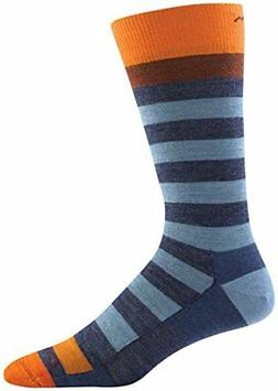 Darn Tough Merino Wool Warlock Crew Light Socks Men's Denim/