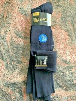 Gold Toe Men's 3-Pack Metropolitan Over-the-Calf Dress Socks