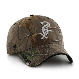 '47 MLB Chicago White Sox Frost MVP Camo Adjustable Hat, One