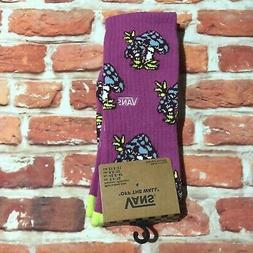 VANS Mushroom Socks Purple Mens New
