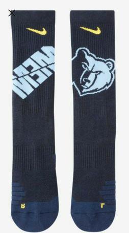 Nike NBA Elite Crew Socks Memphis Grizzlies Size S  SX7604 4