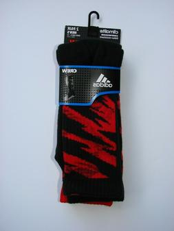 NEW 2 PAIR MEN'S ADIDAS CLIMALITE COMPRESSION CAMO CREW SOCK