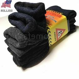 New 3 Pairs Mens Winter Heavy Duty Warm Work Wool BOOTS Sock
