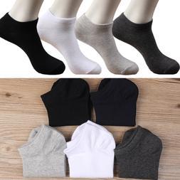 New 4 Color Cotton Men Invisible Low Cut Cotton Non-Slip Loa