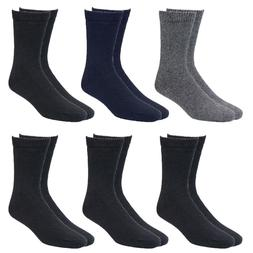 New 6-Pack Mens Heavy Duty Work Thermal Wool Socks Extreme W