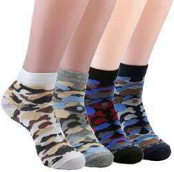 6-12 Pairs Men Women Ankle Quarter Crew Socks Cotton Stretch