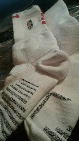 New Authentic Nike NBA Cushion  LONG WHITE socks  Size XL