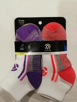 New Champion C9 Youth Ankle Socks 6 Pair  Medium 10.5-4