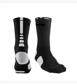 New Nike Elite Pattern Basketball Crew Socks