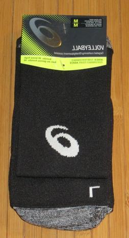 New Asics Kono III Knee High Volleyball Socks Black Medium M
