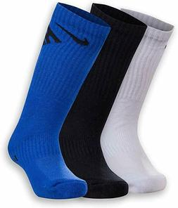 New Nike Little Boys 3-Pk. Crew Socks Choose Size MSRP $16.0