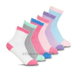 New Lot 6-12 Pairs Womens Soft Cozy Fuzzy Warm Striped Slipp