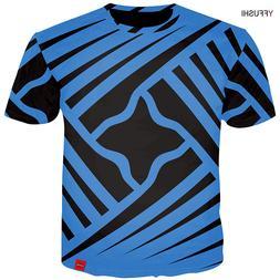 YFFUSHI New Male 3d t shirt Fashion Summer T shirt Top Dress