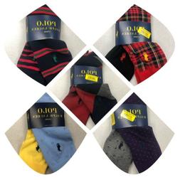 Polo Ralph Lauren Men 2 Pair Dress Casual Socks PICK PATTERN