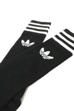 *NEW* Men Adidas Originals Solid Crew Socks 3 pairs ,Sz 9-11