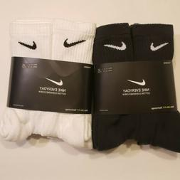 New Mens and Womens Nike Dri-Fit Crew Socks 6 pairs pack Lar