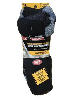 new nwt 3 pair premium steel toe