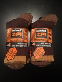 8a706f581 NEW Timberland Pro Series Low Crew Socks With Cooltouch Fibe