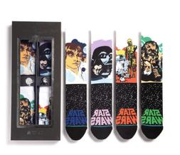 NEW Stance Star Wars Galactic 4-Pack Sock Set with Collector