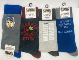 New THE OFFICE TV SHOW Mens Novelty Crew Socks One Size CHOO