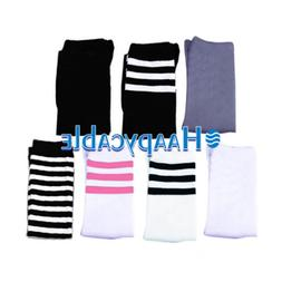 New Women Girl Long Stripe Over Knee Thigh High Sport Tube S