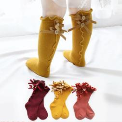 newborn baby toddler knee high lace cute