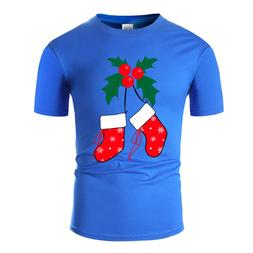 Newest Fashion Mistletoe &Amp; <font><b>Socks</b></font> T S