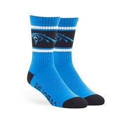 NFL Carolina Panthers '47 Duster Sport Socks, Glacier Blue,