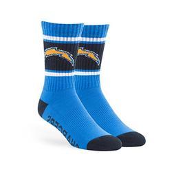 NFL San Diego Chargers '47 Duster Sport Socks, Blue Raz, Lar