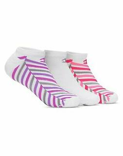 Champion No-Show Socks 3-Pack Womens Moisture wicking Arch s