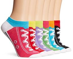 Novelty Crew Assorted Sneakers Socks FOR WOMEN