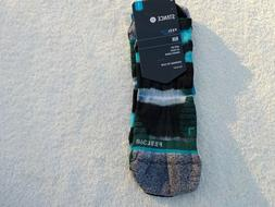 NWT Stance Feel 360 running socks, men's L, 9-12, green or b