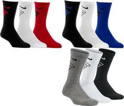 NWT Nike Boys Youth Performance Cushioned Crew Socks 3 Pack