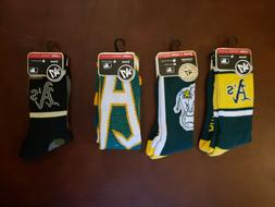 NWT Oakland A's Athletics '47 Brand Socks Large 4 different