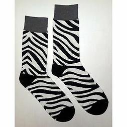 NWOT Women/'s TCK Zebra Design Volleyball All Sport Sock Size Medium 1 Pair