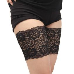 One Pair 2019 Thigh Bands Black Leg Warmers Summer Sexy Lace