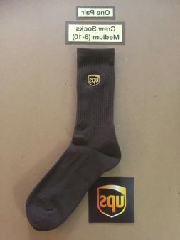 One Pair ~CREW Socks~ Size Men M  United Parcel Service UPS