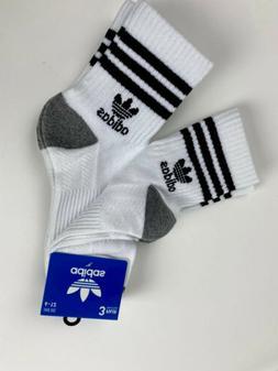adidas Originals Cushioned Crew Socks 3 Pairs Men's