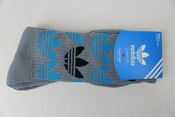 Adidas Originals Gray Black Blue Mens Shoe Size 6-12 Crew So