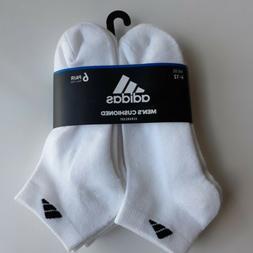 adidas Originals Men's Cushioned Aeroready Low Cut 6 Pack Wh