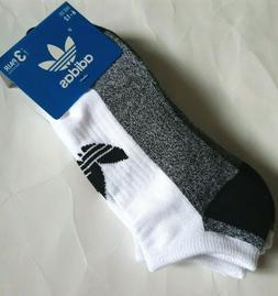 ADIDAS Originals Mens 3pk no-show socks