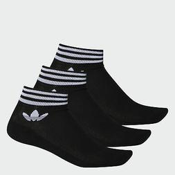 adidas Originals Trefoil Ankle Socks 3 Pairs Men's